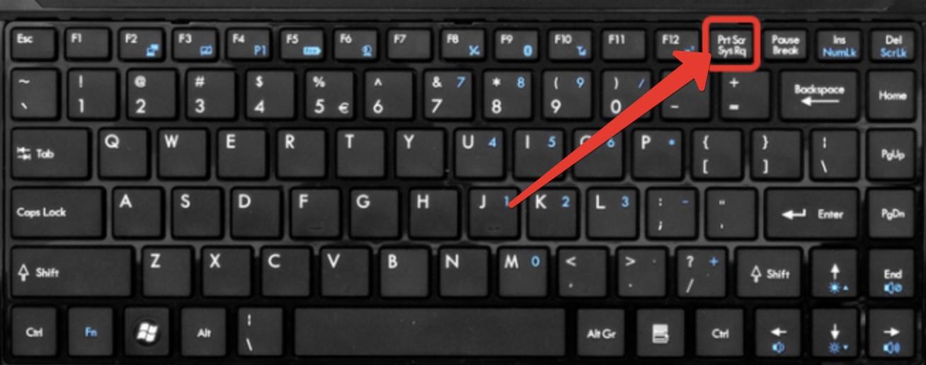 2019 09 06 13 34 21 - Как сделать скриншот экрана, кнопка Print Screen.
