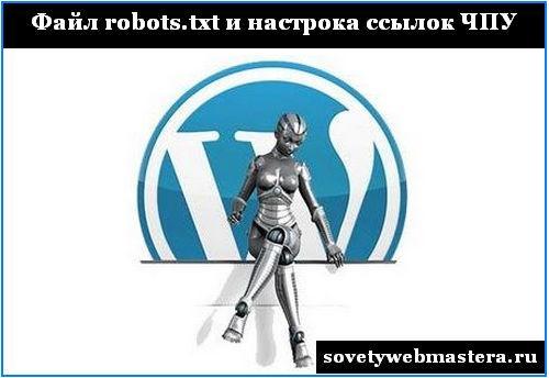 Файл robots.txt и настройка ссылок ЧПУ. Видеоурок