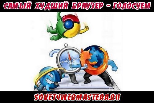 Худший браузер