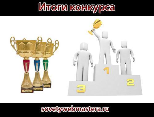 Итоги конкурса 'Самый честный отзыв на инфопродукт'