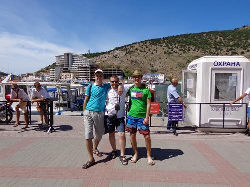 Я с Сергеем Довбыш и Александром Коцерубой
